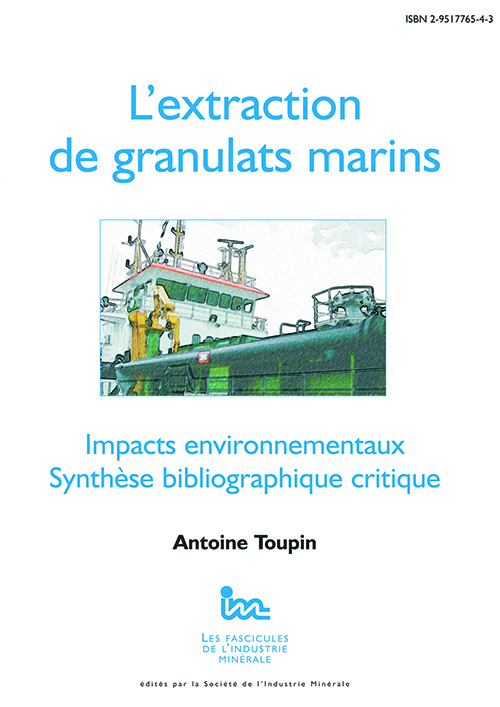 L'Extraction de granulats marins